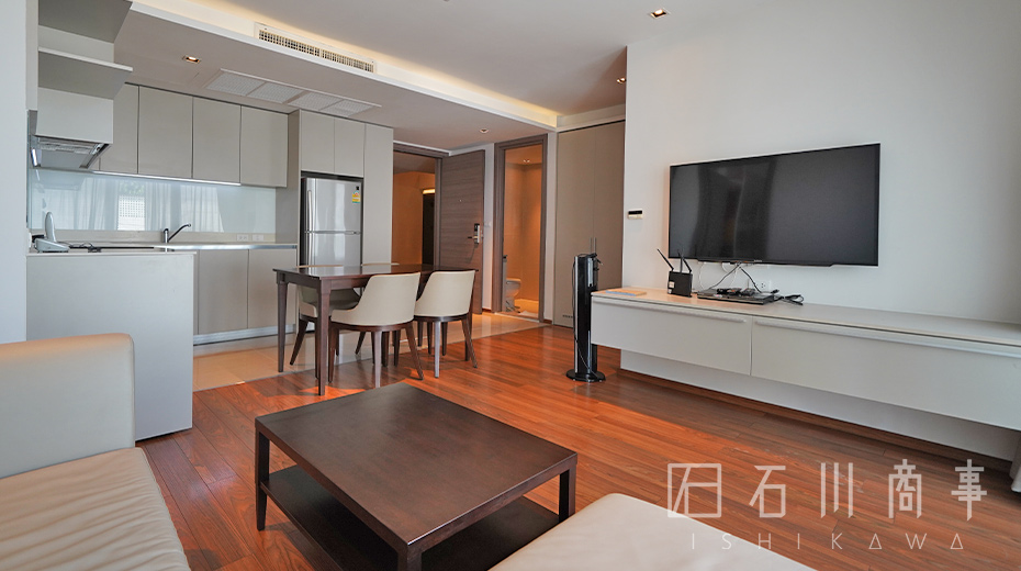 the-residence61-2bed_living